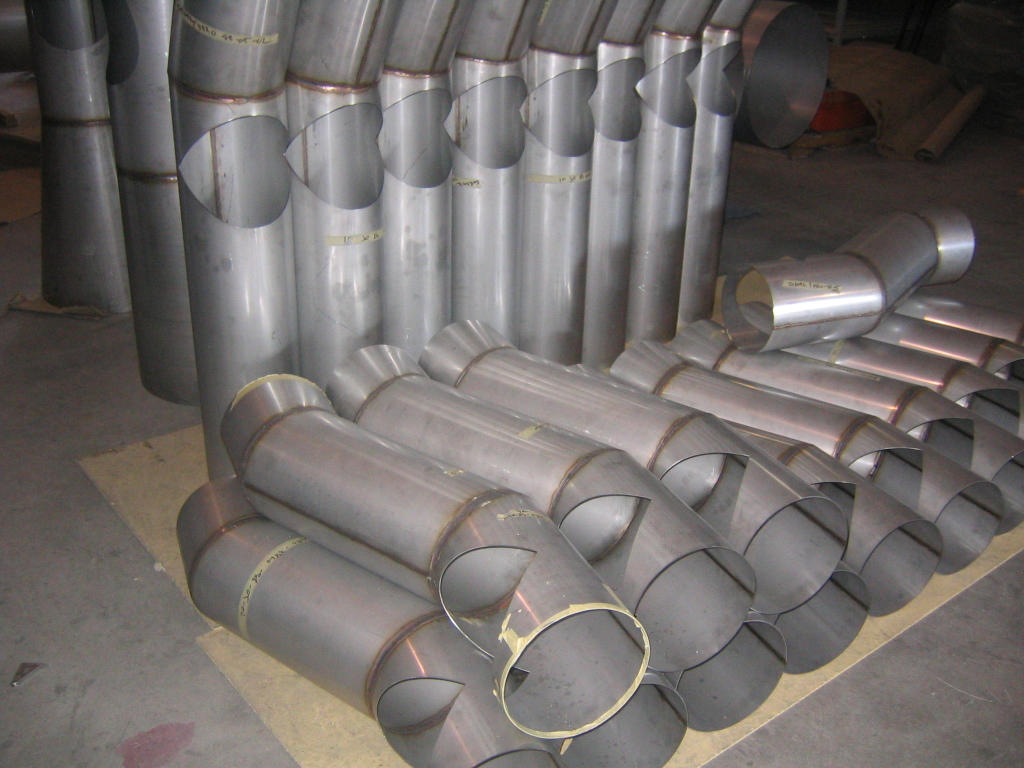 Welded Stainless Steel Ducting