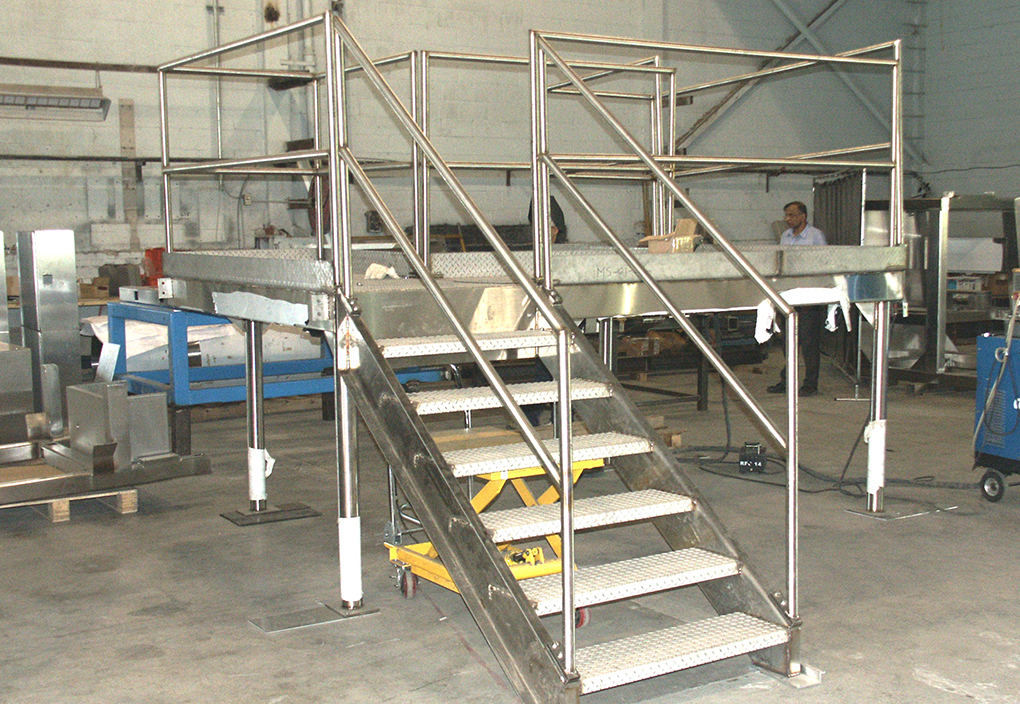 Stainless Steel Catwalks or Walkovers