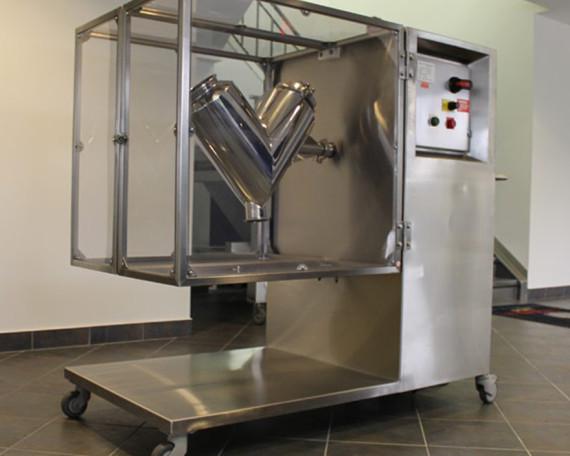 stainless steel v-blender-lab size