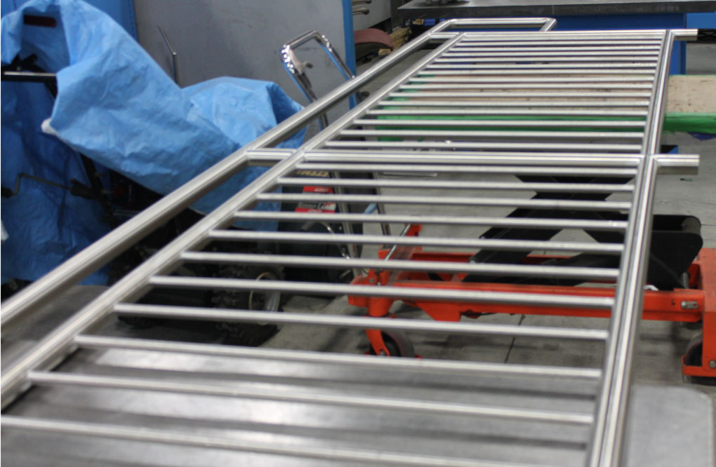 Stainless Steel Shoe Cubbies