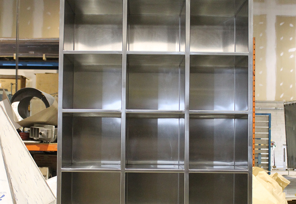 Stainless Steel Shoe Cubbies Ability Fabricators Inc