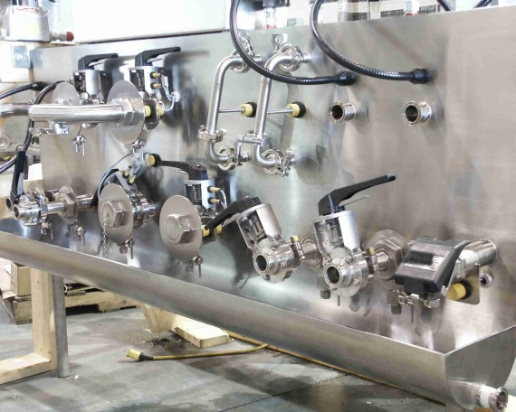 stainless steel transfer pane