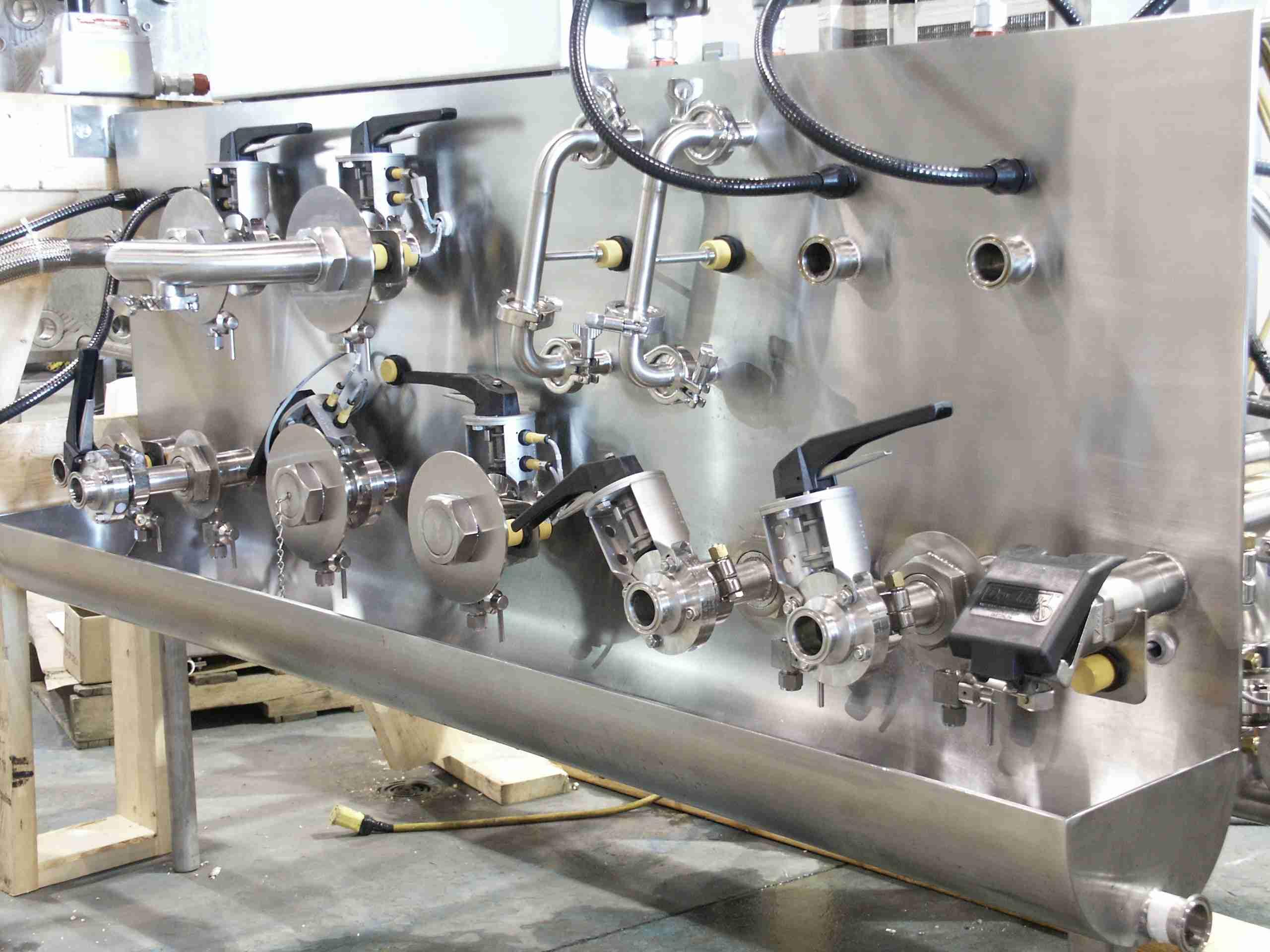 stainless steel transfer pane